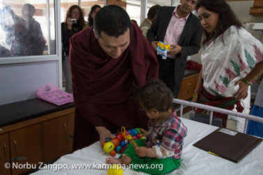 Gyalwa Karmapa at