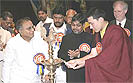 H.H. Karmapa at the first International Buddhist Conference in Mumbai