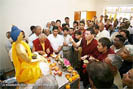 The 17th Karmapa in Uttar Pradesh