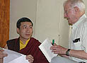 The17th Karmapa visits Kalimpong, India