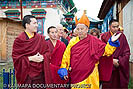 HH Gyalwa Karmapa with the Hambo Lama